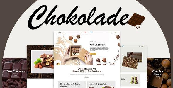 Chokolade v1.0.0 - Chocolate Sweets & Candy And Cake Shopify Theme Free Download