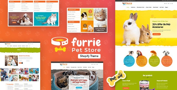 Furrie v1.0 Shopify Pet Store, Dog Care Shopify Theme Free Download