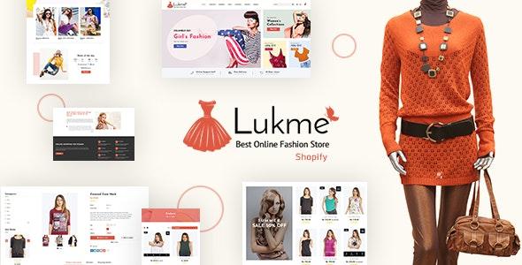 Lukme v1.1 - Fashion Store Shopify Theme Free Download