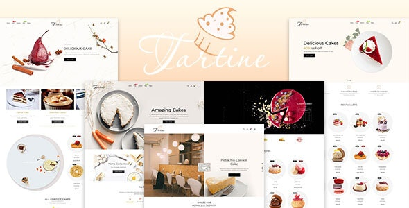 Tartine v1.0 - Cake & Bakery Responsive Shopify Theme Free Download