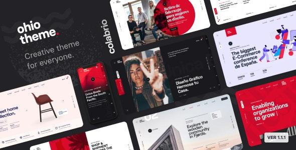 Ohio v1.1.1 - Creative Portfolio & Agency WordPress Theme Free Download