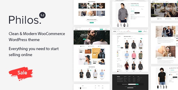 Philos v5.2 - Responsive WooCommerce WordPress Theme Free Download