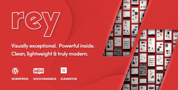 Rey v1.6.11 - Fashion & Clothing, Furniture WordPress Theme Free Download