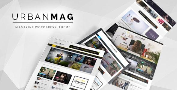Urban Mag v1.22 - News & Magazine WordPress Theme Free Download