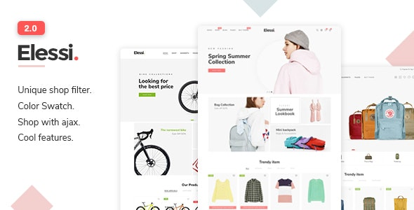 Elessi v2.0 - Responsive Shopify Theme Free Download