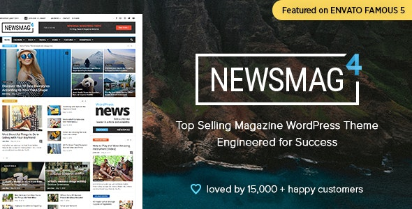Newsmag v4.9.5 - News Magazine Newspaper WordPress Theme Free Download